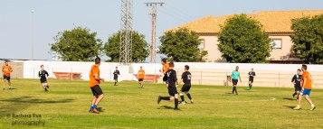 A fixture against a local team