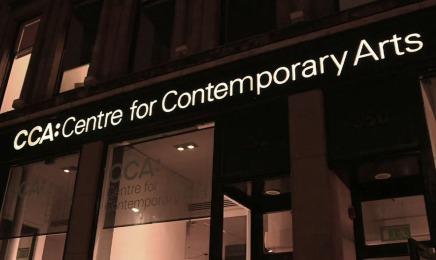 The CCA, Sauchiehall Street, Glasgow.